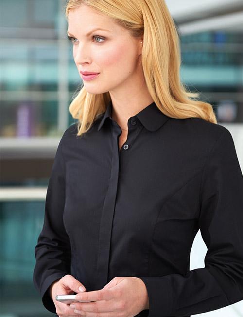 trevi blouse black