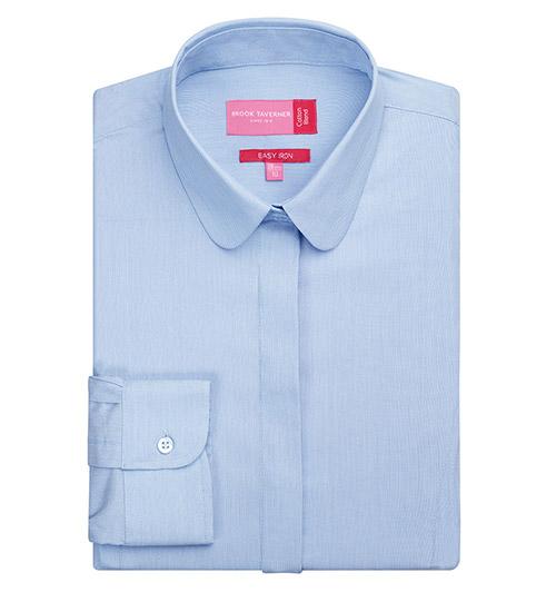 trevi blouse sky blue