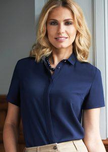 venezia blouse navy product image
