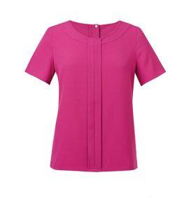 verona blouse fuchsia