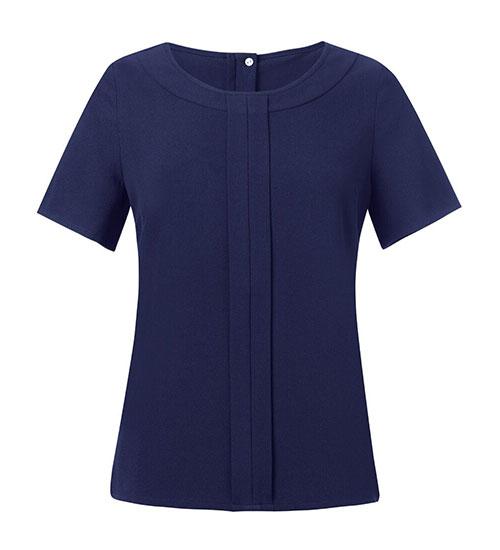 verona blouse navy