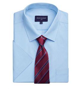 vesta blue shirt
