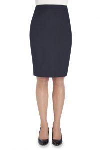 wyndham navy skirt