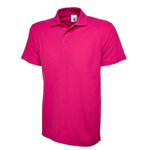 classic polo hot pink