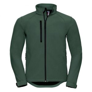 mens softstyle jacket bottle-green
