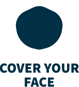 Cover your face illustration
